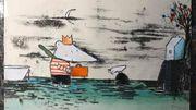 L'auteur et illustrateur liégeois Emile Jadoul, expose ses dessins confinés