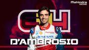 Jérôme D'Ambrosio confirmé par Mahindra pour la saison 6 de Formule E