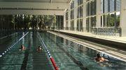 Eclairage led, panneaux photovoltaïques intégrés et cuve en inox: un alliage de technologie et de confort pour les nageurs