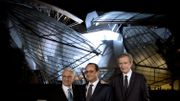 François Hollande inaugure la Fondation Vuitton à Paris