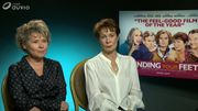 "L'interview d'Imelda Staunton et Celia Imrie pour ""Finding your feet"""