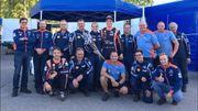 Neuville survole l'Autoglym Ralli, en préparation au Rallye de Finlande