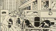 Une rare illustration de Tintin proposée aux enchères le 8 avril à Paris