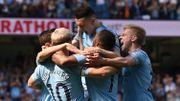 Man City dispose de Tottenham, reprend la tête mais De Bruyne sort sur blessure