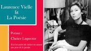 """Laurence Vielle lit """"Il m'est arrivé de cacher un amour par peur de le perdre"""" de Clarice Lispector"""