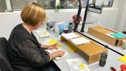 Une fois que les productions sont vérifiées et certifiées, elle sont prêtes à l'envoi.
