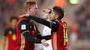 De Bruyne meilleur milieu offensif du 'Big 5', Mertens meilleur n°9