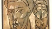 """""""Deux visages"""" (détail)"""