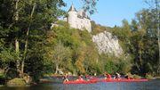 Les kayaks seront à nouveau autorisés sur certains tronçons de rivières wallonnes