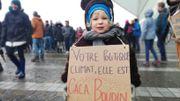 """Une politique climatique """"caca boudin"""" pour cette jeune participante"""