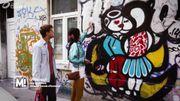 Portrait d'Anthea Missy, street artiste