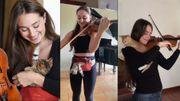 Esther Abrami, la violoniste qui murmure à l'oreille des chatons