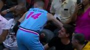 En plein match de NBA, Thibaut Courtois fait parler ses réflexes