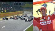 Italie 2015 : Raikkonen cale au départ, Vettel acclamé sur le podium