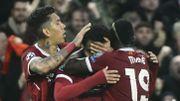Liverpool déroule mais laisse une lueur d'espoir à la Roma de Nainggolan