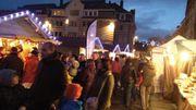 Viva for Life au coeur du marché de Noël de Nivelles...