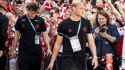 Euro 2020: le Danemark accueilli chaleureusement par ses supporters