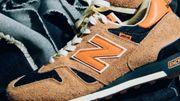 Une paire de sneakers signée Levi's et New Balance pour le printemps