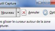 """Une capture d'écran de l'outil """"Capture d'écran"""" disponible sur Windows."""