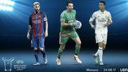 Buffon, Messi et Ronaldo nommés pour le titre de Joueur de la saison de l'UEFA