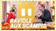 Les recettes de Max & Fanny: Raviole de céleri aux scampis