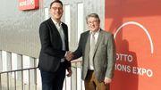 Le président du Lotto Mons Expo Cédric Mélis a enfin trouvé la perle rare