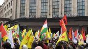 Manifestation pro-kurde à Bruxelles contre l'offensive turque en Syrie