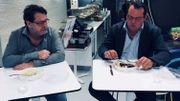 Deux plats et deux avis bien différents pour nos testeurs Carlo de Pascale et Philippe Limbourg