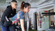 Giu Yuna se donne sans compter à l'entraînement pour augmenter sa masse musculaire.