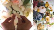 """""""Fleur Papier Ciseaux"""" vous propose de superbes fleurs en papier plus vraies que nature"""