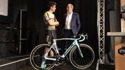 """Wout van Aert """"certain de devenir un meilleur coureur"""" chez Jumbo-Visma"""