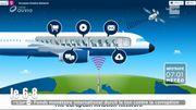 Bientôt du wifi à bord des avions européens !