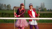 Les Poufs font du tennis !
