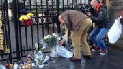 Hommage à la reine Fabiola devant le Palais royal ce samedi.