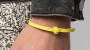 Des bijoux qui ressemblent à des colliers colson sont vendus à plus de 500euros
