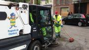 La grève se poursuit au sein du service Propreté de la ville de Charleroi