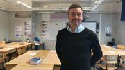 Jonas Wolbe, proviseur de l'école Stureby à Stockholm
