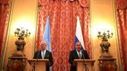 """Washington a """"bombardé les négociations de Genève"""" en frappant la syrie, affirme Lavrov"""