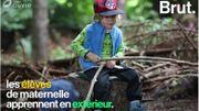 Au Danemark, les enfants étudient en pleine nature