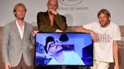 Cannes: chaise vide et badge pour protester contre l'absence du Russe Serebrennikov