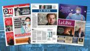 La revue de presse, c'est tous les jours de la semaine à 8h30 dansLe 8/9en radio sur VivaCité et en télé sur la Une.