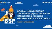 Hooverphonic et Booba au BSF 2019