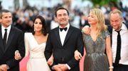 """Festival de Cannes 2018 - Poelvoorde et Efira sur le tapis rouge pour """"Le Grand Bain"""" de Gilles Lellouche"""