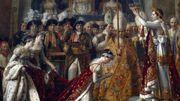 """""""Le Sacre de Napoléon"""" représente son couronnement en la cathédrale Notre-Dame."""