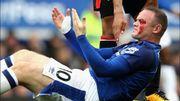 Violente blessure pour Rooney suite à un coup de coude face à Bournemouth