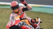 Festival de chutes au Mans, Marquez signe la pole