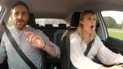 Angèle parle de sa phobie des nombrils et prend une leçon de conduite dans le Carpool Karaoké