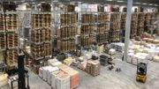 L'entrepôt combine conditions de conservation idéales et fonctionnalité