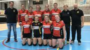 Les policières-volleyeuses belges visent l'EURO