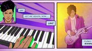 """Holly Rock"" de Prince s'offre un clip animé"
